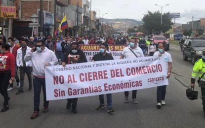 Comerciantes en el Día del Trabajo: 'Que nos dejen trabajar'