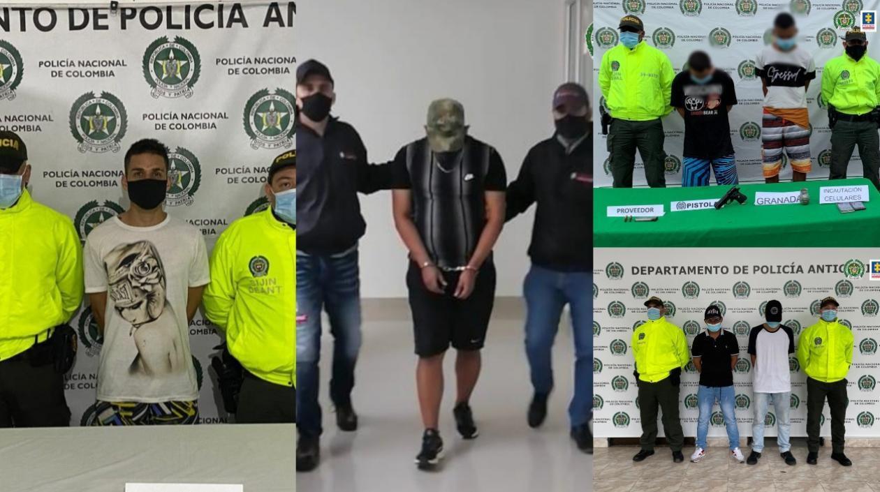 Caen presuntos vinculados en masacres en Antioquia y Valle del Cauca - Noticias de Colombia