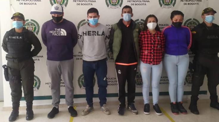 Cayeron integrantes de 'Los cuatreros', una banda que extorsionaba desde La Picota - Noticias de Colombia