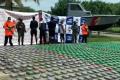 Militares rechazaron soborno he incautar 1.2 toneladas de cocaína