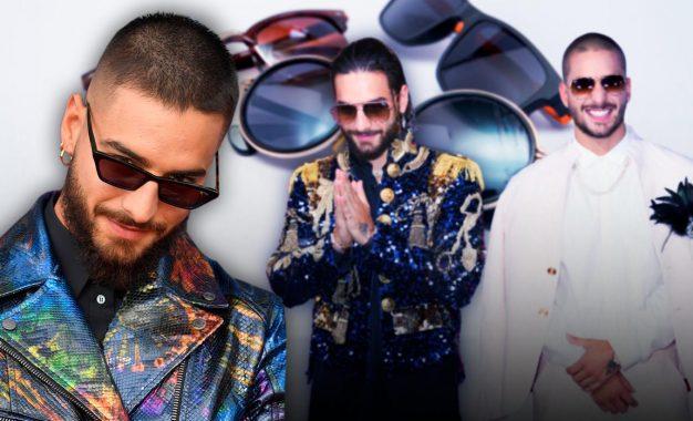 Maluma lanzó su propia colección de gafas de sol