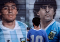 Argentinos celebran en las calles y en estadio el 35 aniversario del 'gol del siglo' de Maradona a Inglaterra