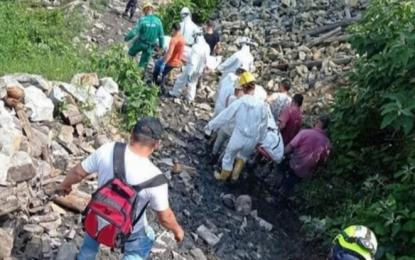 Dos mineros fallecieron tras un accidente en una mina en Marmato, Caldas