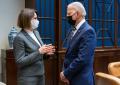 Joe Biden recibió en la Casa Blanca a Svetlana Tijanovskaya, líder de la oposición bielorrusa