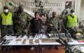 """Capturan con """"arsenal"""" a presuntos disidentes de las Farc en Dagua, Valle del Cauca"""