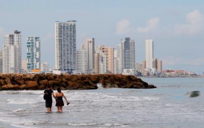 Turista en Cartagena resultó con 5 costillas rotas, lo estrelló una moto acuática