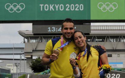 """Pajón dijo que su plata """"vale oro"""": Ramírez agradecido por """"llevar otro podio"""" al país"""
