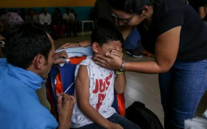 En el 2020 un 14,4% de menores en Colombia dejaron de recibir las vacunas obligatorias