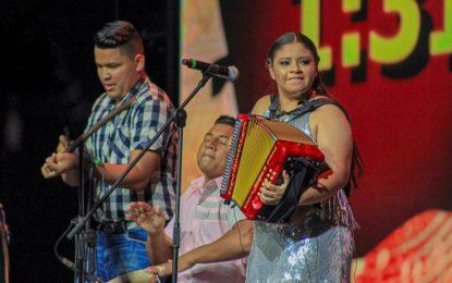 La Nueva Reina Mayor del acordeón es Nataly Patiño