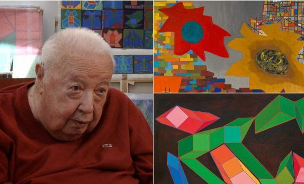 Falleció el reconocido italiano Achille Perilli, el pintor de las 'geometrías imposibles'
