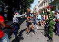 Activistas cubanos instaron a Bachelet a condenar la violencia de la dictadura