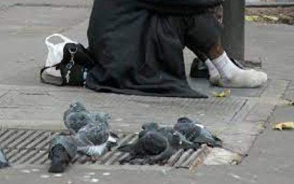 De un golpe fue asesinado un habitante de calle en el centro