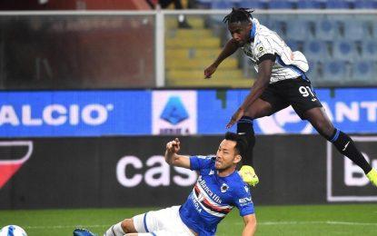 Duván Zapata reactiva al Atalanta: provocó autogol y marcó un tanto