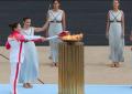 Grecia entrega la antorcha para los Juegos Olímpicos de Invierno Pekín 2022
