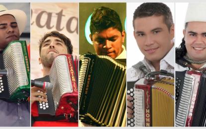 Los cinco finalistas que quieren coronarse Rey Vallenato 2021
