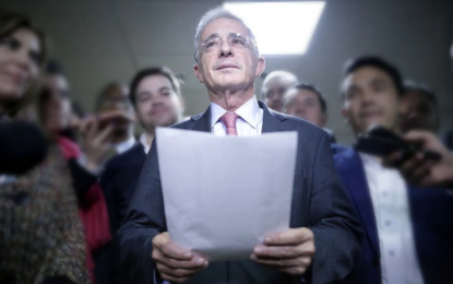 Álvaro Uribe pidió desconocer fallo de La Haya en litigio marítimo con Nicaragua