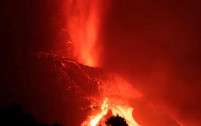 Erupción del volcán Cumbre Vieja de La Palma cumple un mes